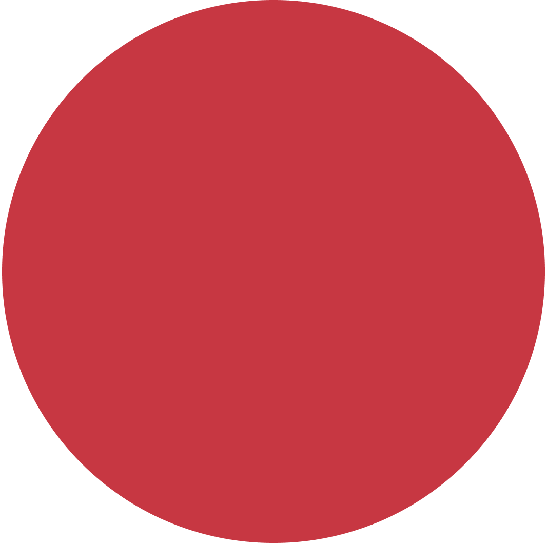 Giant red circle